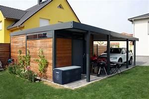 Holzgarage Mit Carport : fertiggarage mit carport fertiggarage mit carport anbau fertiggarage kombiniert mit carport ~ Markanthonyermac.com Haus und Dekorationen