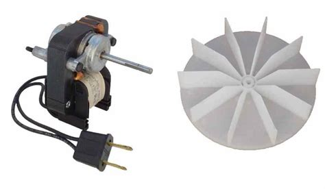 universal bathroom fan replacement electric motor kit