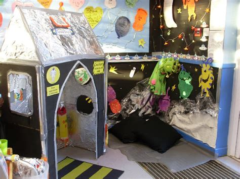 Space Role Play Area  Role Play  Pinterest Spaceships