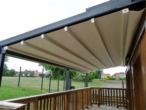 wall mounted pergola with retractable canopy home design ideas