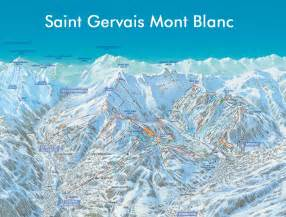 gervais mont blanc slopes ski map gervais mont blanc runs in the ski resort