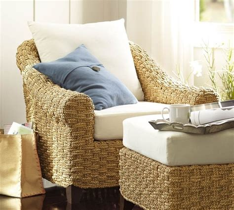 holbrook seagrass armchair contemporary armchairs and accent chairs by pottery barn