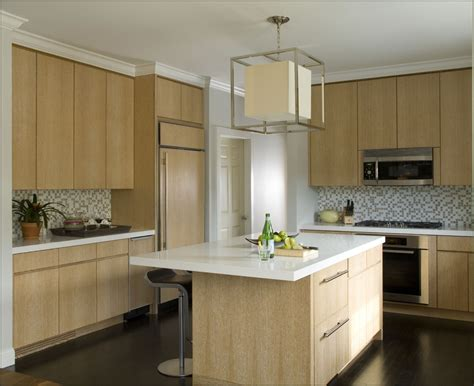 Modern Kitchen Colors With Light Wood Cabinets  Kitchen