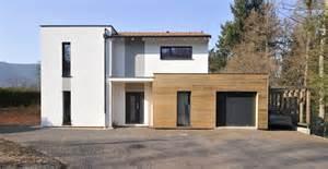 magnifique maison avec bardage bois crepis