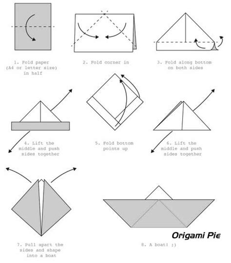 How To Make Paper Boat Download by Boat Origami How To Make An Origami Boat Origami Pie