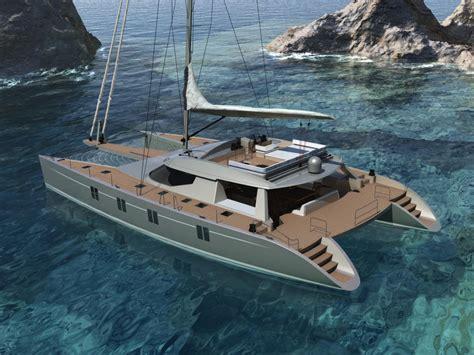 Catamaran Sailing Yacht Manufacturers by Alu Marine Introduces The Sailing Catamaran Havana 72