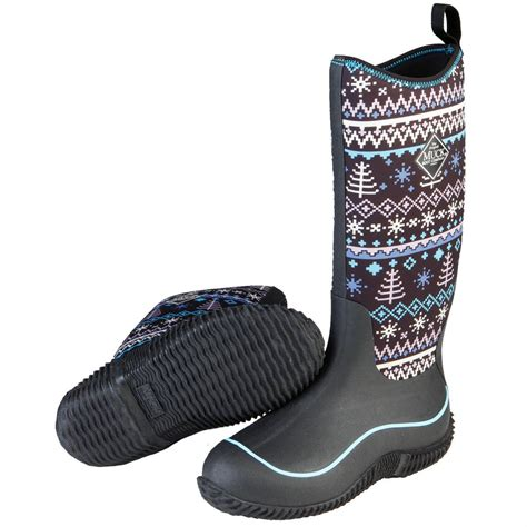 Rubber Boot Pics by Women S Muck Hale Waterproof Rubber Boots 658168 Rubber