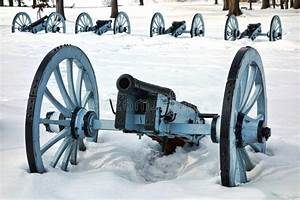 Artillery War Canon At Valley Forge National Park Royalty ...