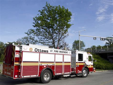 Ottawa Fire Boat by Fire Services Tow Stranded Fishing Boat To Safety Ottawa