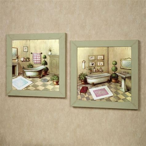 accessories for bathroom decoration using vintage retro