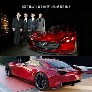 """RX-VISION: Winner of the """"Most Beautiful Concept Car of ..."""