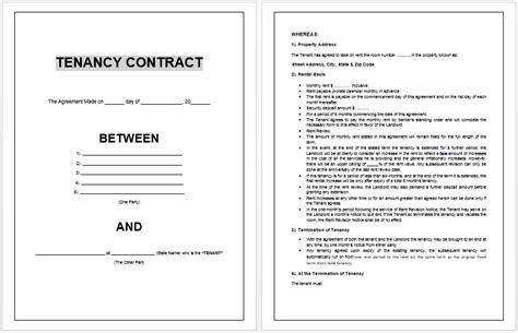 Contract Templates Archives