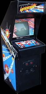 Arcade Cabinets: Asteroids (1979) and Asteroids Deluxe ...