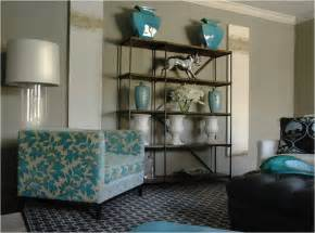 grey brown and turquoise living room turquoise accents design ideas