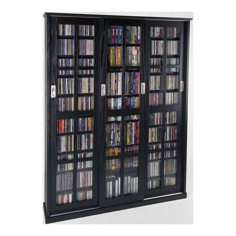leslie dame dvd storage espresso mission style sliding glass door dvd cabinet leslie dame dvd