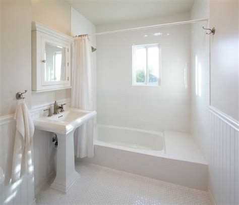 White Pedestal Sinks by White Bathrooms Can Be Interesting Too Fresh Design Ideas