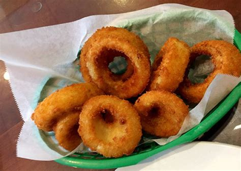 Fried Onion Rings Were The Bomb!  Picture Of Mabel's