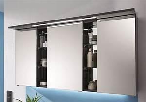 Spiegelschrank Bad 160 Cm Breit : puris linea sps a 130 cm badm bel g nstig arcom center ~ Markanthonyermac.com Haus und Dekorationen