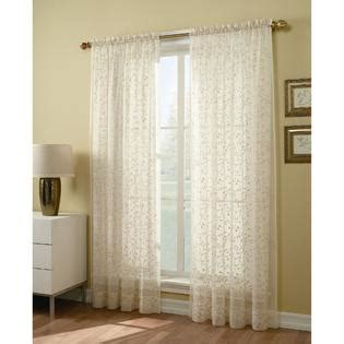84 inch sheer window panel find voile curtains at sears and kmart