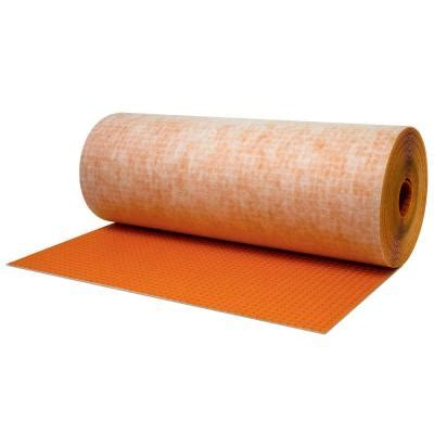 schluter ditra 323 sq ft 3 ft 3 in x 98 ft 5 in x 1 8 in uncoupling underlayment for tile