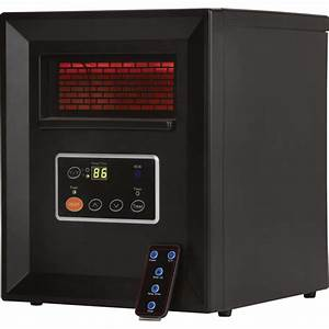 Comfort Zone Infrared Quartz Heater — 3413 BTU, 1000 Watts ...