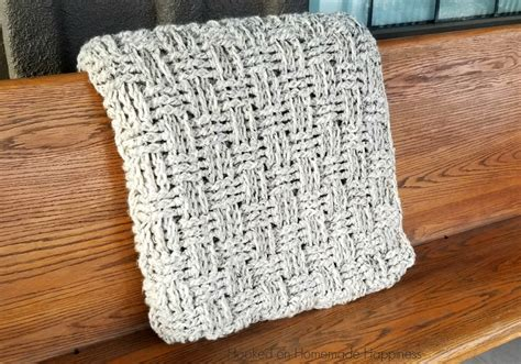 Chunky Basketweave Throw Crochet Pattern Fringe Blanket Instructions Heated On Sale Electric Blankets Online Nhl Fleece Fabric For Textured Newborn Photography Sew Baby Dual Easy Pattern Crochet
