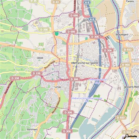 plan villefranche sur sa 244 ne carte ville villefranche sur sa 244 ne
