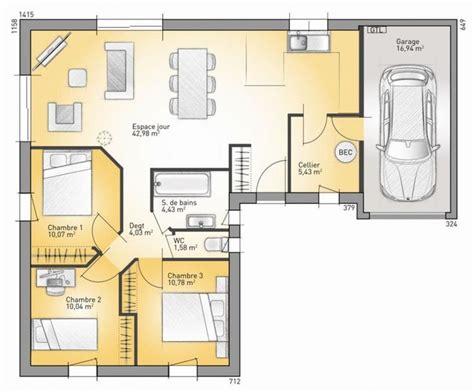 maison lumina 89 g maisons confort 89 m2 faire construire sa maison plan maison