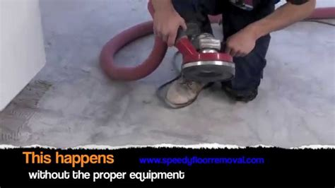 speedy dustless ceramic tile and thinset removal