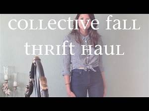 Collective Fall Thrift Haul - YouTube