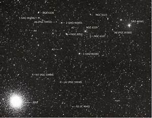 A Chain of Galaxies Near M92 - Sky & Telescope