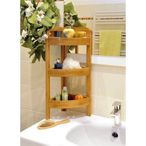 201 tag 232 re d angle de salle de bains 3 niveaux en bambou
