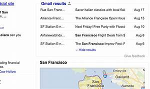 Gmail integrated into Google Results | DOZ