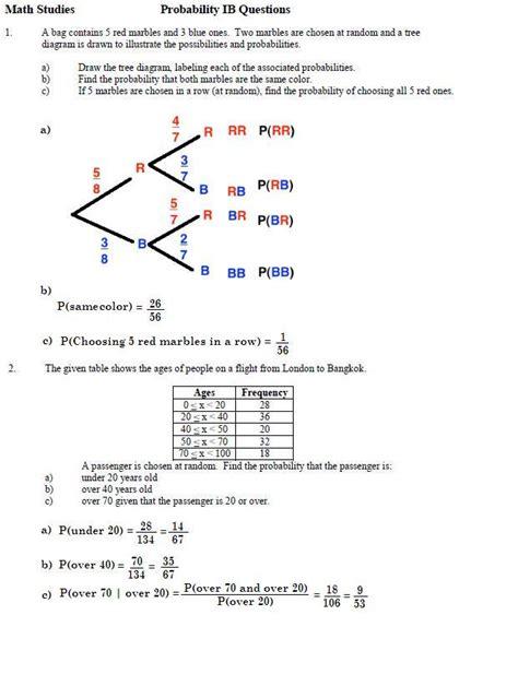 Venn Diagram Probability Problems Worksheet  Venn Diagram Questions And Answers Pdf Practice
