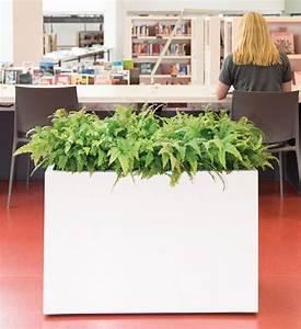 Pflanzkübel Raumteiler Fiberglas : pflanzk bel fiberglas block wei 90 cm im greenbop online shop kaufen ~ Markanthonyermac.com Haus und Dekorationen