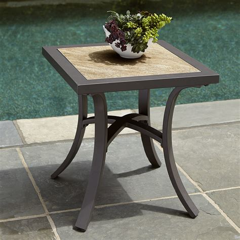 ty pennington palmetto side table outdoor living patio