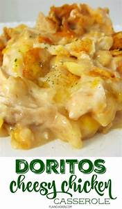 cheesy chicken dorito casserole with velveeta