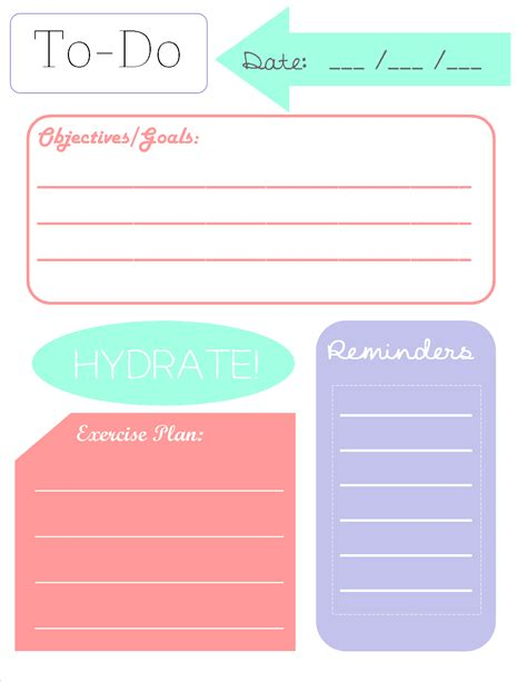 To Do List Template Printable Pinterest by To Do List Printable Printables Pinterest Planners
