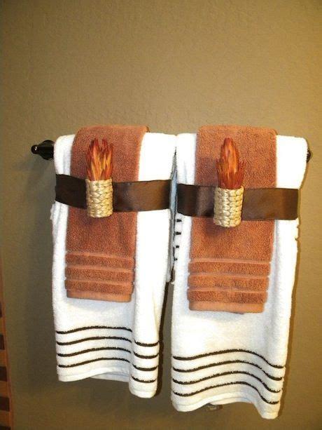 Best 25+ Bathroom Towel Display Ideas On Pinterest  Towel