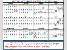 Indian Calendar 2014 With Holidays Pdf
