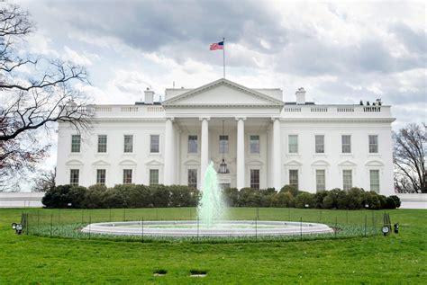 Das Weiße Haus 1600 Pennsylvania Avenue  Symbol Einer