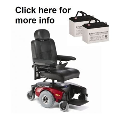 Pronto M6 Power Chair by Replacement Batteries For All Invacare Power Wheelchairs