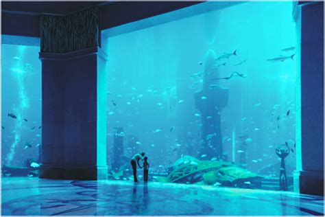 the aquarium in atlantis hotel in dubai pouted magazine design trends