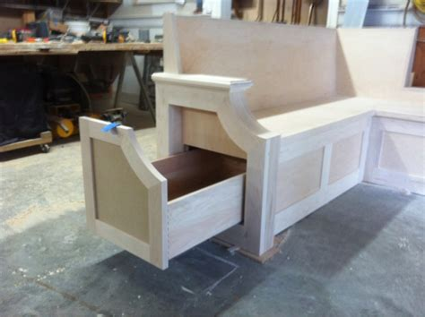 Kitchen Bench Seat-finish Carpentry-contractor Talk