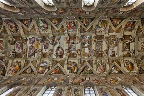 10mai 1508 michel ange d 233 bute le plafond de la chapelle sixtine analyse des fresques