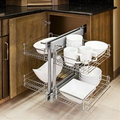 build blind corner cabinet pull out woodworking projects plans