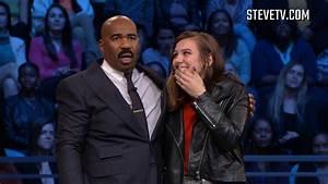 This Audience Member Got A Hug From Steve Harvey - YouTube