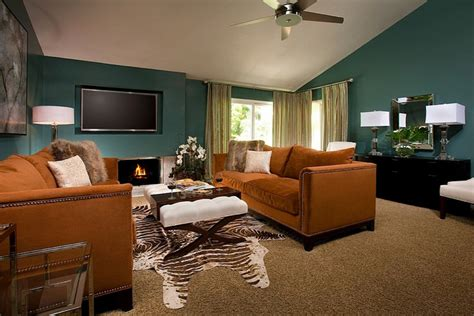 brown and teal living room designs teal and brown living room ideas