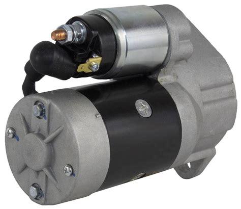 new starter fit motor ingersoll rand 185 p185 air compressor 41r18n yanmar 4 cyl ebay
