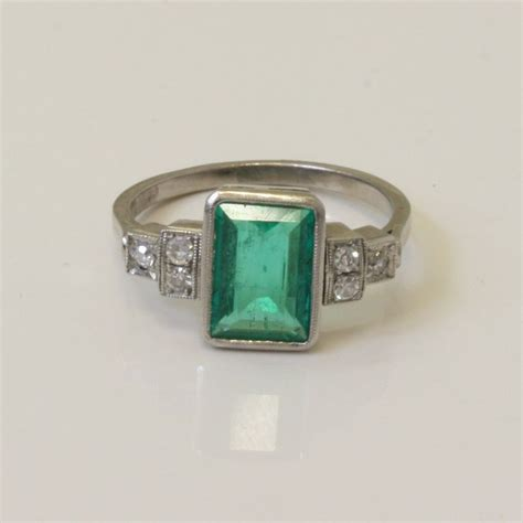 17 best images about emerald engagement rings on antiques emerald and deco